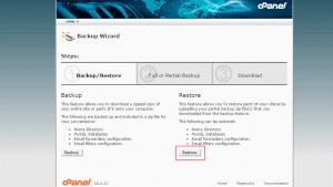 بازگرداندن دیتابیس MySQL در cPanel