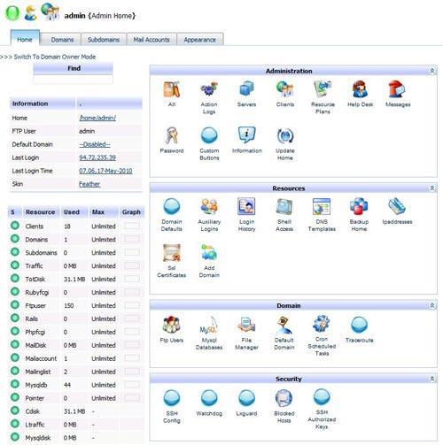 آموزش نصب کنترل پنل kloxo روی سرور مجازی لینوکس