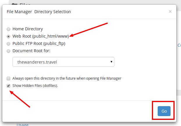 نحوه حذف ایمیل ها از طریق File Manager در cPanel