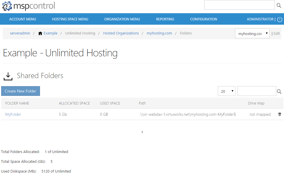 نصب کنترل پنل MSPControl بر روی سرور ویندوز