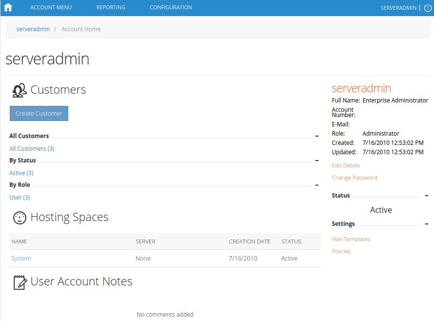 ایجاد پلن در هاست ویندوز در Websitepanel