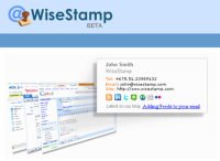 ایجاد امضای ایمیل با Wise stamp
