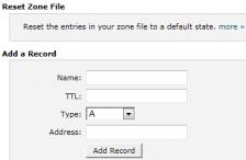 ریست کردن DNS های هاست با Advanced DNS Zone Editor