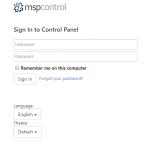 ادامه ایجاد ایمیل در وبسایت پنل و mspcontrol