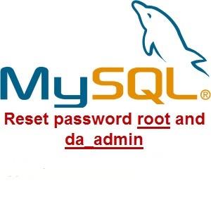 تغییر رمزعبور da_admin در mySql
