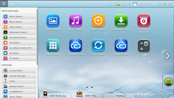 سیستم عامل QNAP QTS