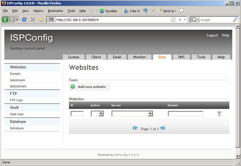 نصب ISPConfig 3 روی سرور مجازی Centos 7