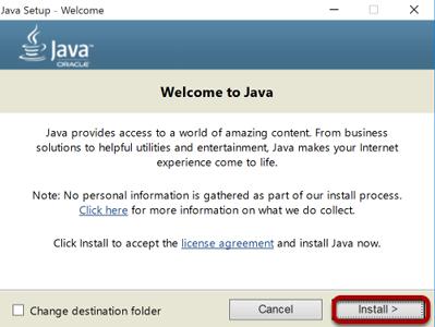 دانلود Java